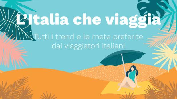 L'Italia che viaggia in un infografica