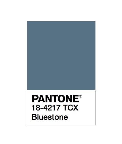 12 colori moda autunno inverno 2020 Pantone: Bluestone