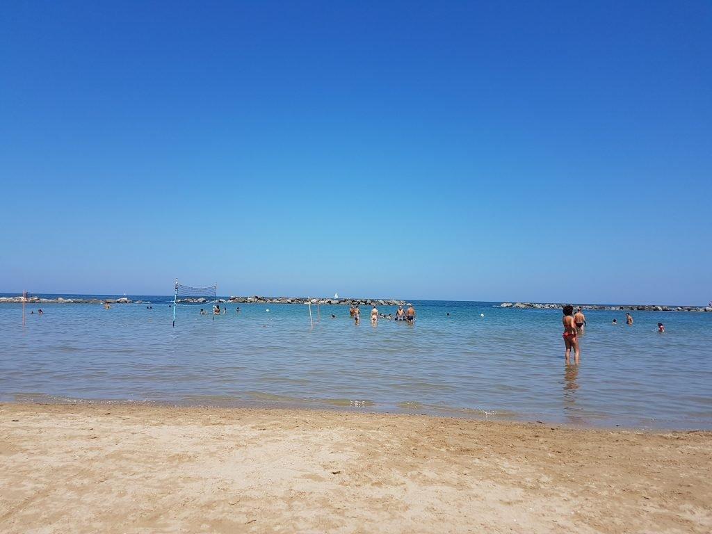 Pesaro maree spiagge
