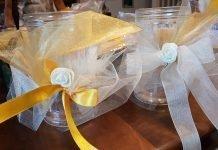Come fare bomboniere e centro tavola per cerimonie