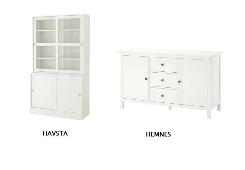 Credenze shabby Ikea e madie shabby chic: proposte e prezzi