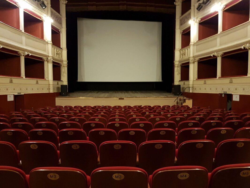 Teatro Signorelli platea e soffitto