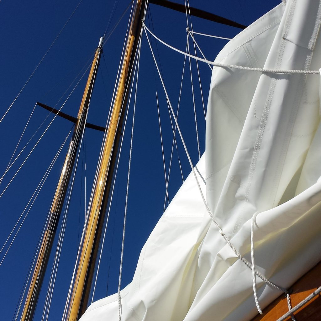 Vela nautica in dracon