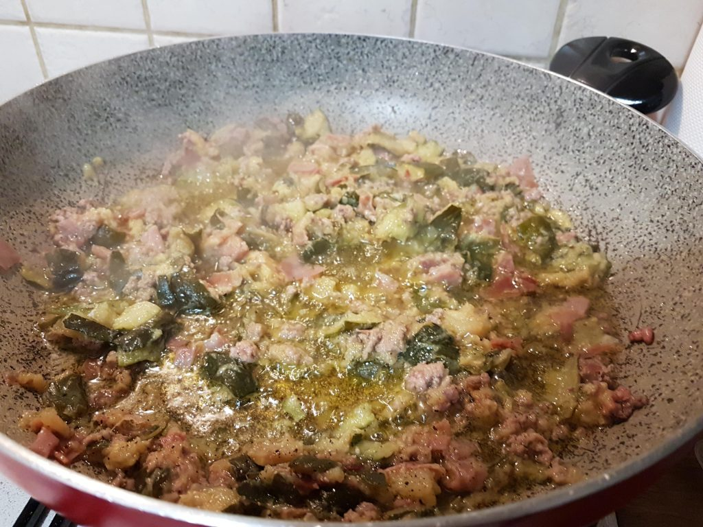 condimento pasta con zucchine