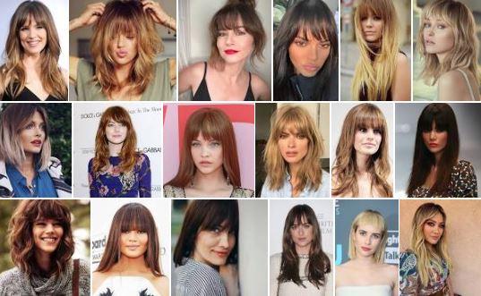 Idee di stile la frangia tendenza moda 18 frange per capelli