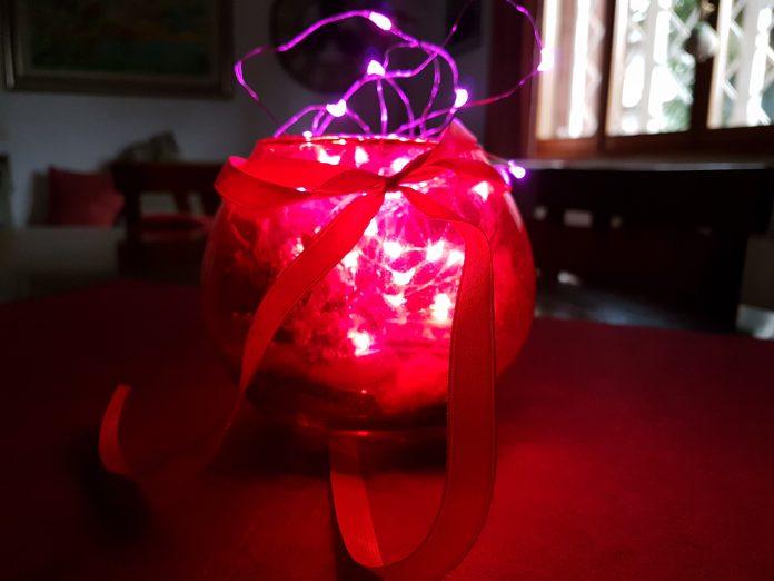 Lampada natalizia fai da te, Natale creativo