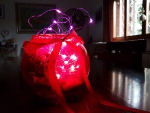 Lampada Natale con luci