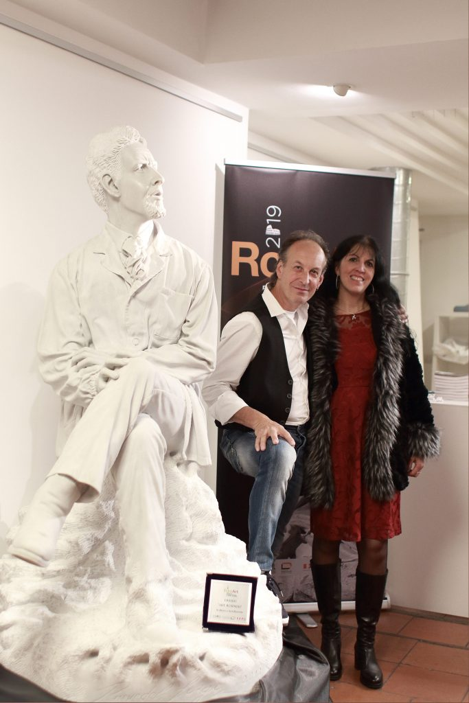 Luigi Prevedel e Stefano zuech scultura