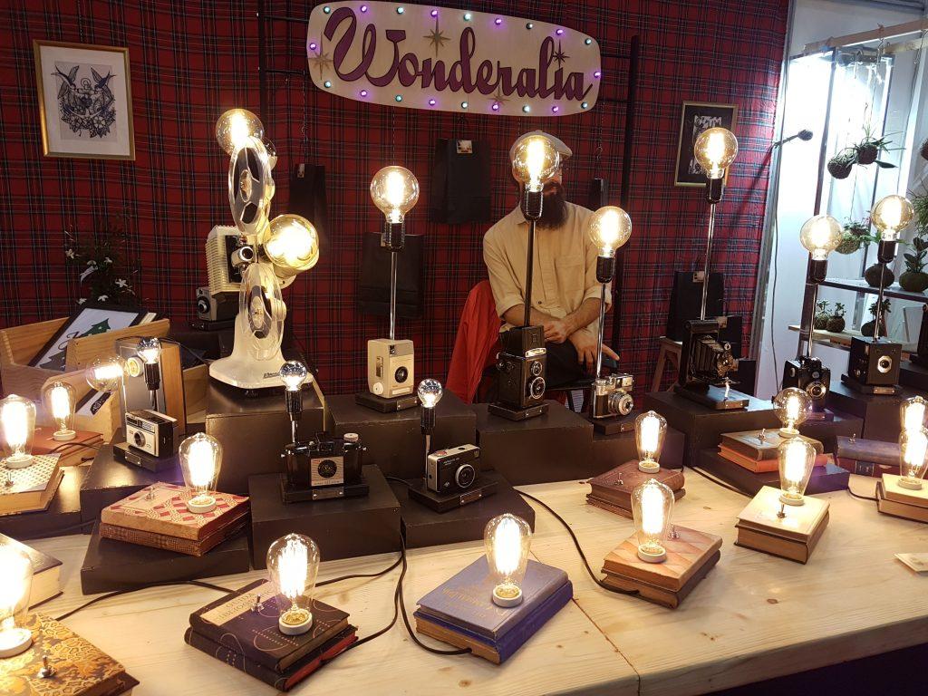 wonderalia lampade