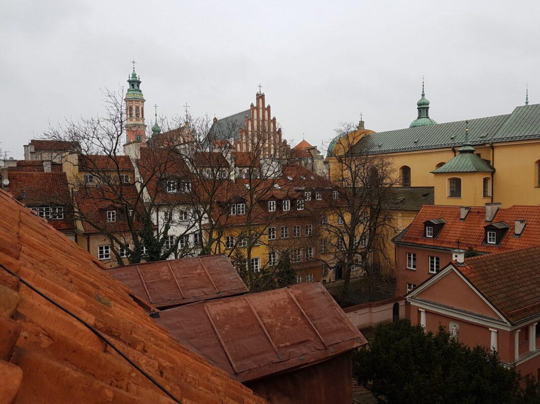 Varsavia vista dai tetti