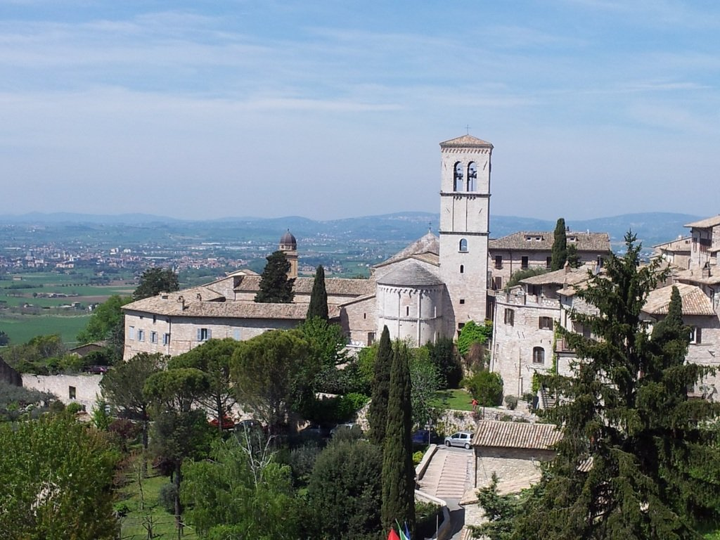 Vista panoramica assisi