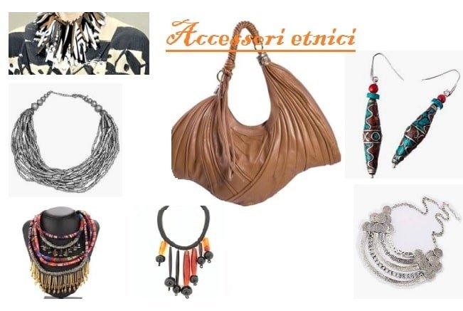 Gli accessori tribali: collane, borse e orecchini etnici