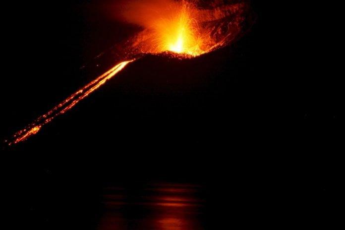 sognare un vulcano significato