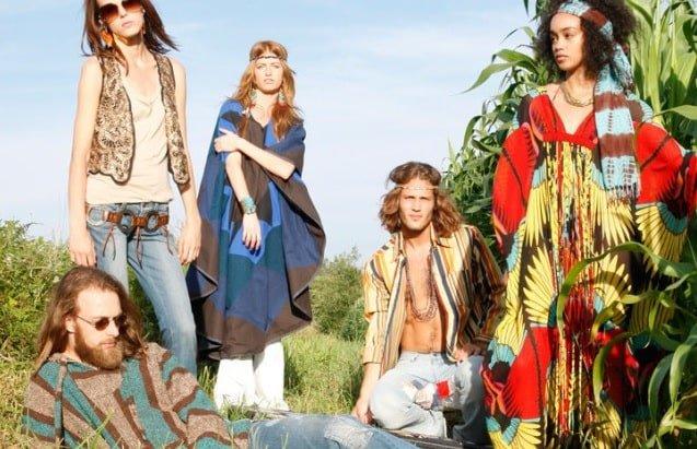 stile moda hippie