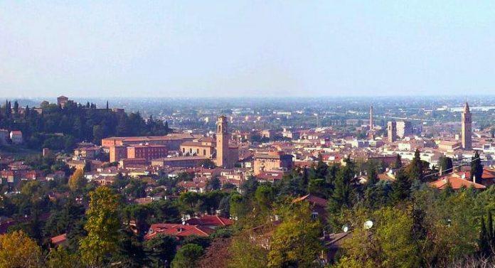 Panorama di Cesena e colline