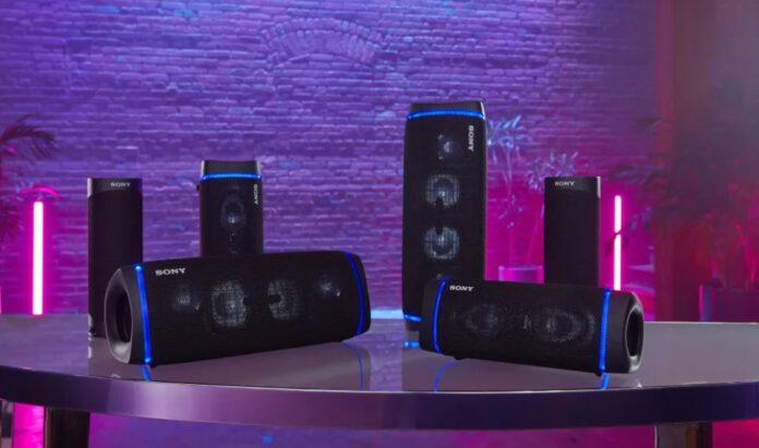 Nuova gamma sony speaker