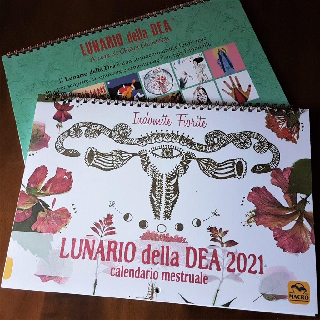 Calendario lunare della dea 2020 e 2021