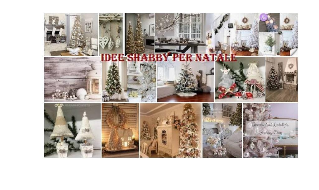Idee Shabby per Natale: come arredare casa a Natale