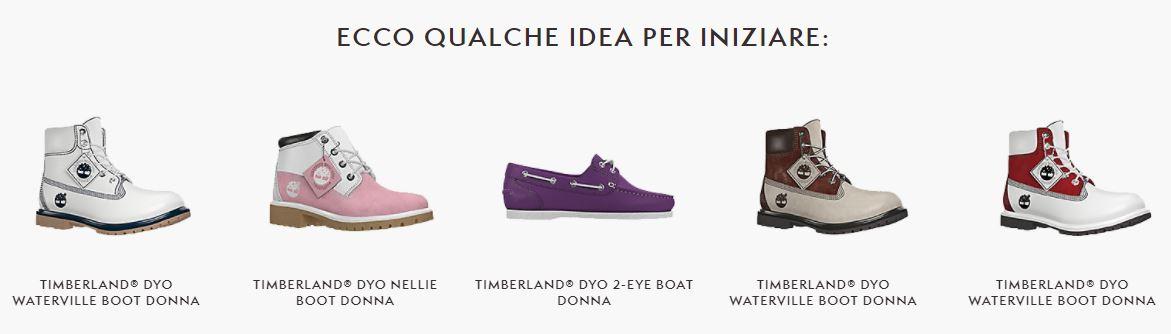 Timberland scarpe: regali e non solo, scarpe personalizzate online