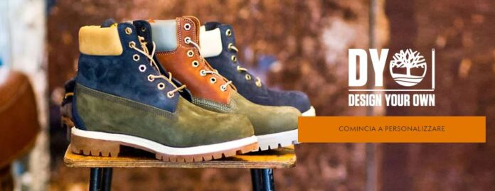 Timberland scarpe personalizzate online