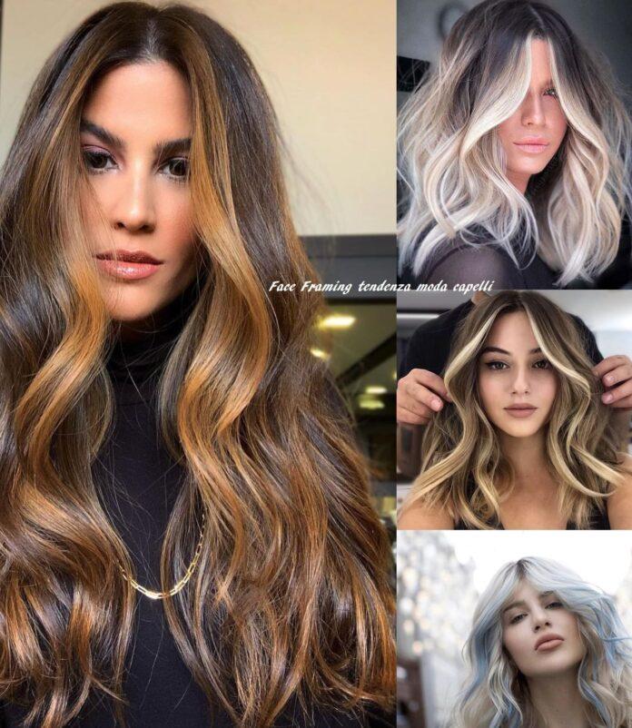 Face framing tendenza moda capelli