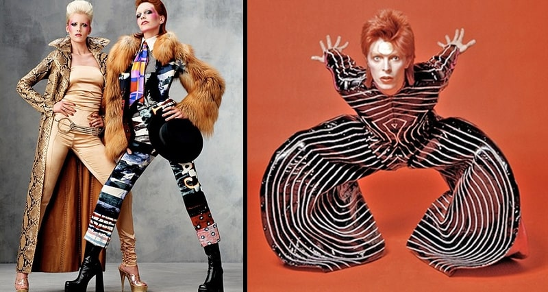 Glam Rock style anni 70