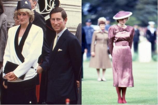Icone di stile femminili Lady Diana