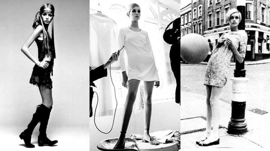Icone di stile femminili: Twiggy Lawson e la minigonna