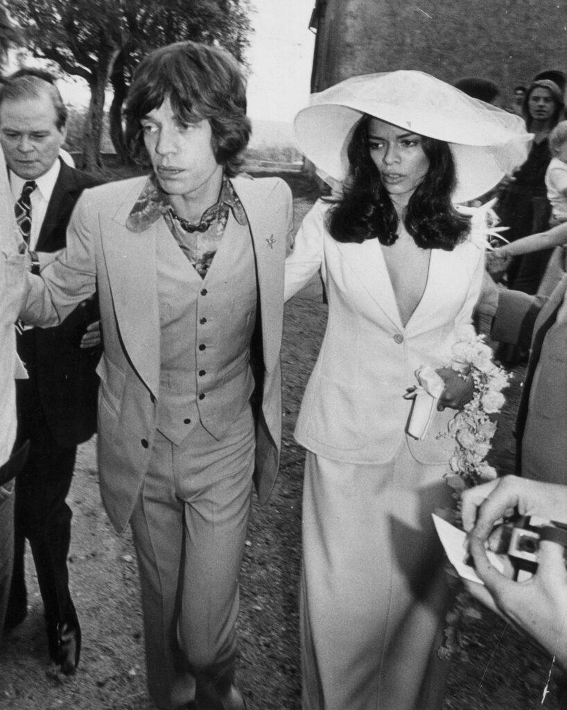 Icone di stile femminili: Binca Jagger