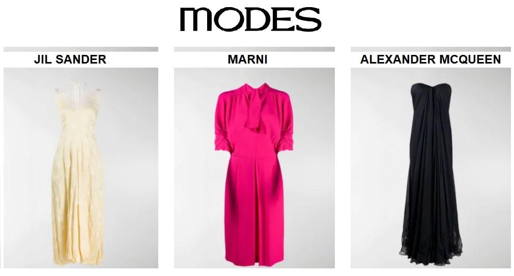 MODES: la moda donna, uomo e bambino