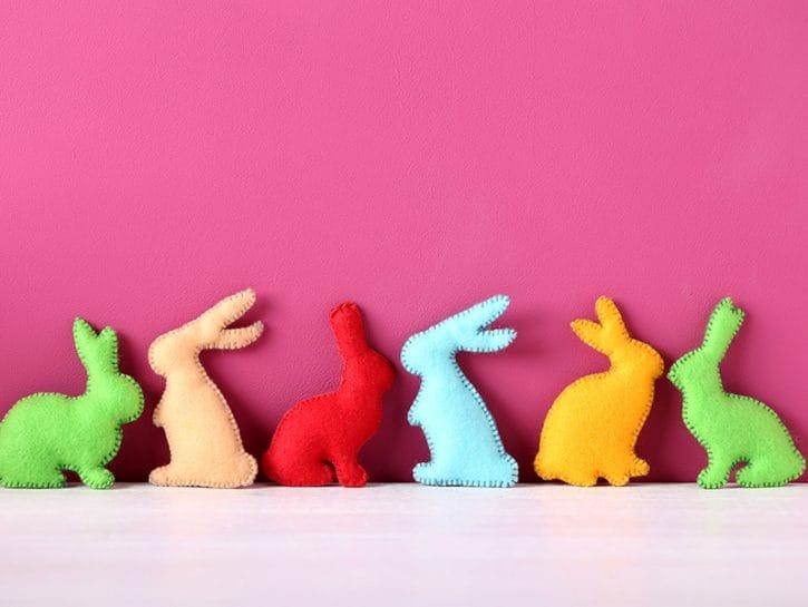 Lavori per pasqua fai da te i coniglietti