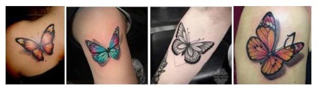 Tattoo farfalla significato
