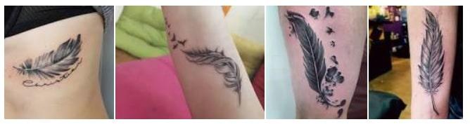 Tattoo piuma significato