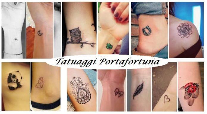 Tatuaggi portafortuna femminili e maschili