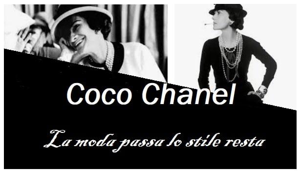 Coco Chanel stile e frasi celebri