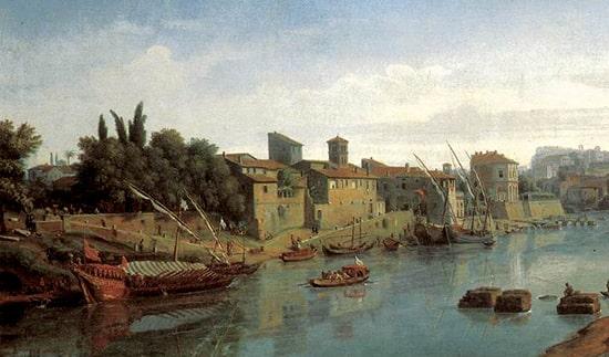 antichi porti Tevere a Roma