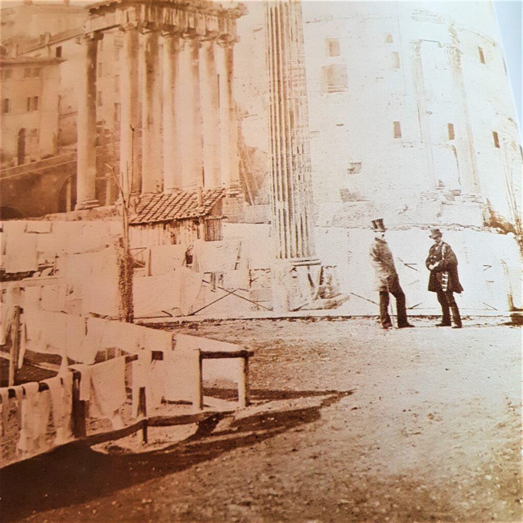 Antica Roma dell'800 storia, architetture