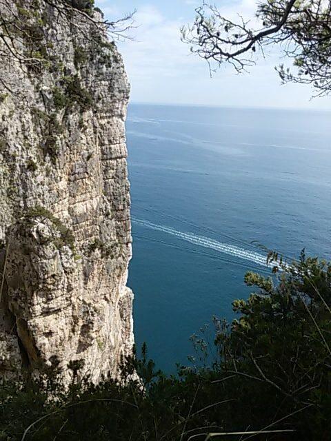 Costa Alta montagna spaccata Gaeta
