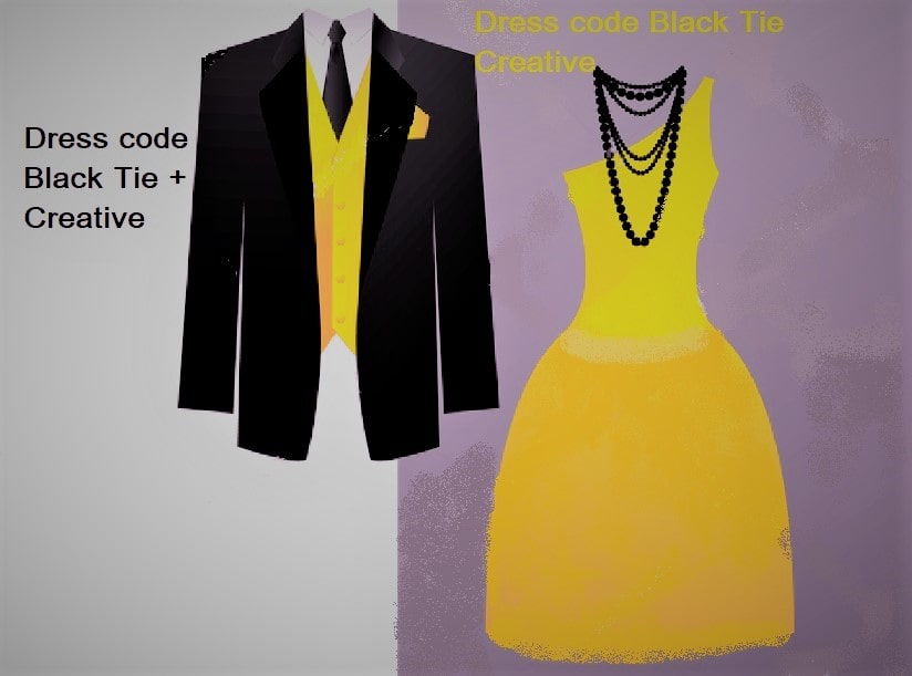 Dress code Black Tie Creative