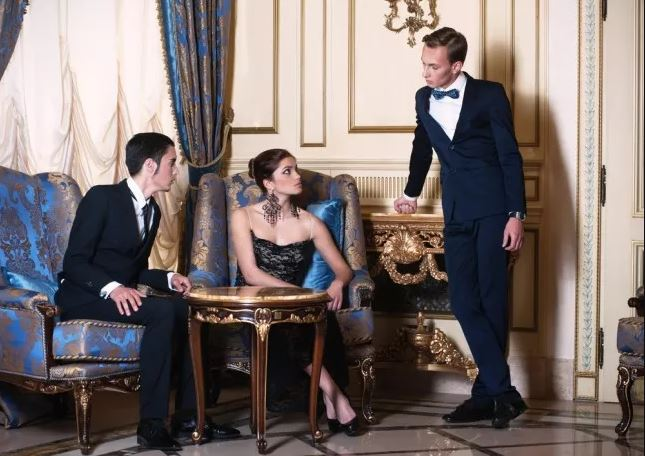 Dress code elegante e formale sera