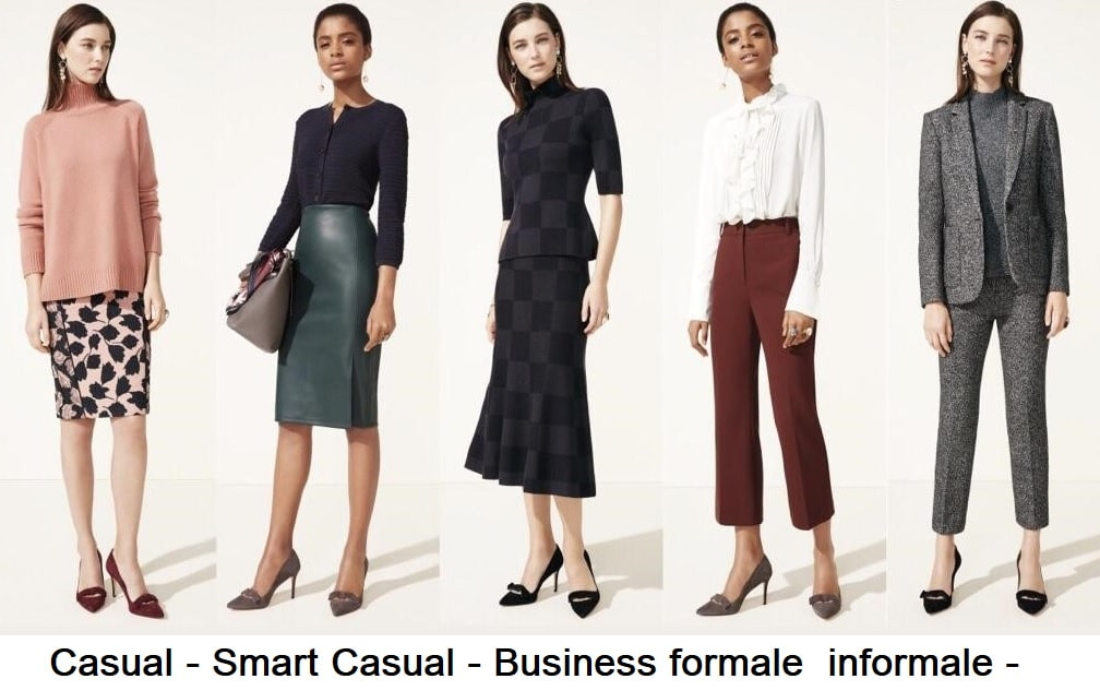 Dress code casual smart per donna