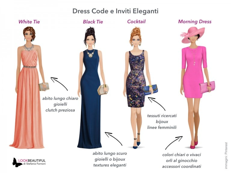 Dress code in base all'evento