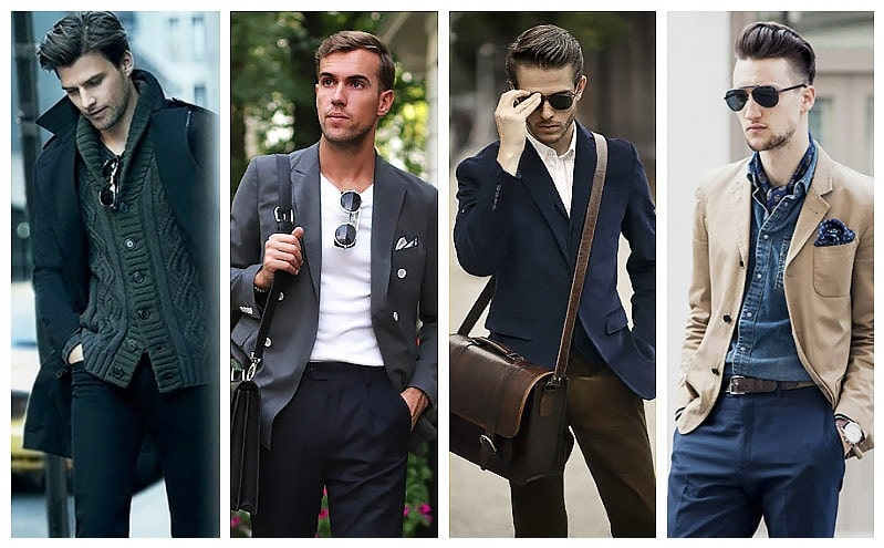 Dress code casual smart uomo