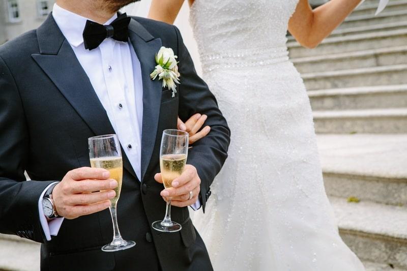 Matrimonio e smoking: si può usare?