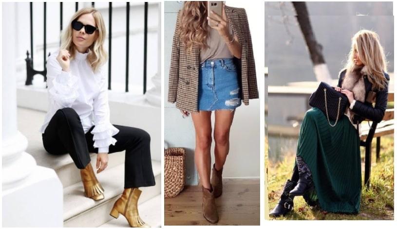 Tronchetti con pantaloni gonne corte e gonne lunghe