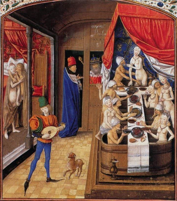 Nel Medioevo le persone non si lavavano